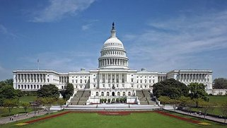 Photo of the United States' Capitol building.